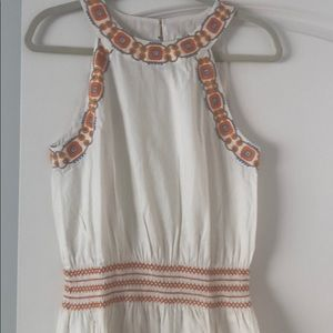 TORY BURCH DRESS w/ embroidery